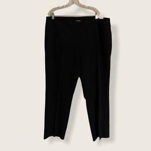 Dressbarn Roz&Ali Woman Black Pants Tummy Control
